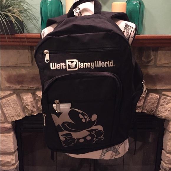 b07a8f293bba Disney Handbags - Large Walt Disney World Resort Backpack